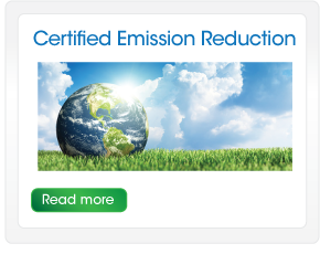 Certified emmission reduction